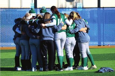 Softball team starts 2020 season