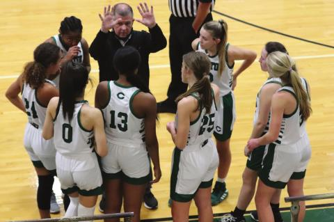 Eaglettes close in on district opener