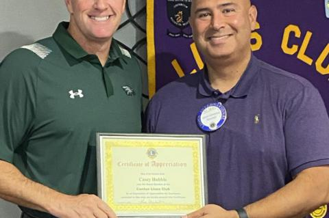 Lions Club welcomes Hubble