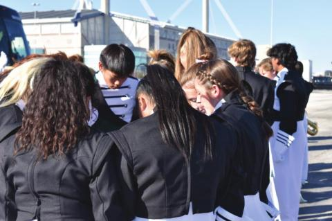 Mighty Canton Band earns fifth at State