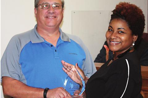 Maucieri receives Iris Stagner Award from TAC