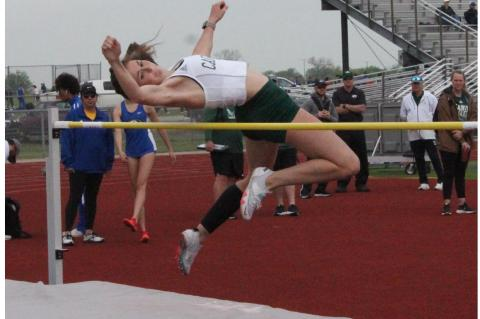 Track competes at District 14-4A Meet