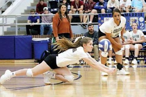 EAGLETTES IMPROVE TO 8-1 IN DISTRICT
