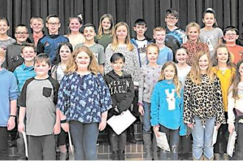FOURTH GRADE HONOR ROLL RELEASED