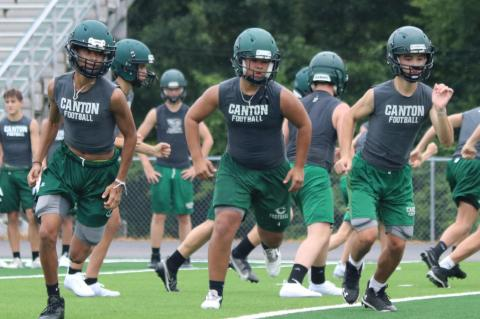 Two-a-days begin for Canton athletes
