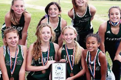 JH cross country wraps season