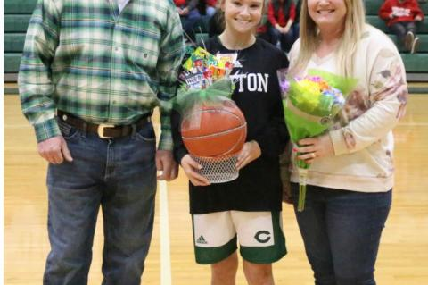 2020 Girls Basketball Senior Night