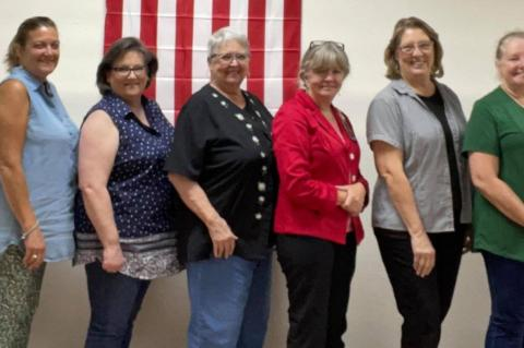 Daughters of the Republic of Texas learn about Texian Navy Day