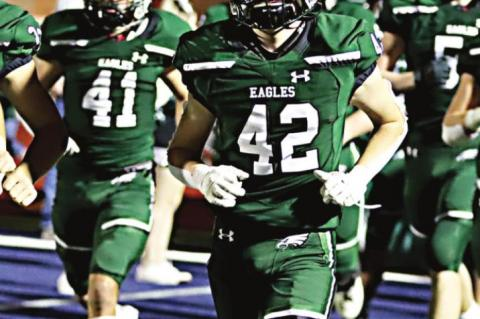 Three Eagles recognized by THSCA