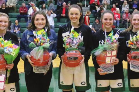 Defense shines in senior night win