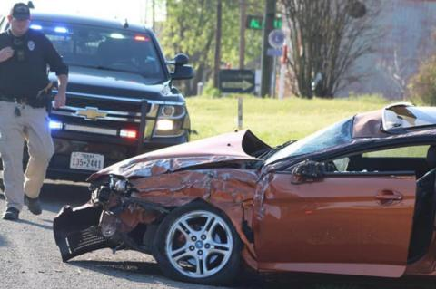 Early morning rollover injures one