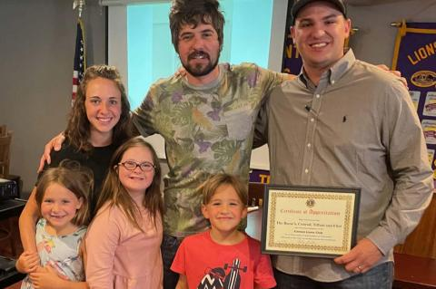 Canton Lions hear from Reese family