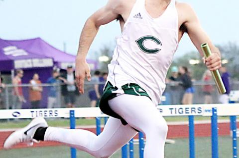 Track teams compete at Bluebird Relays