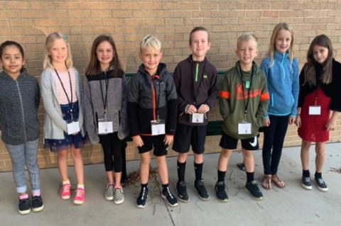 CES October Student Council named