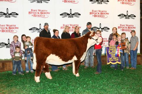 Harris wins at Fort Worth Stock Show