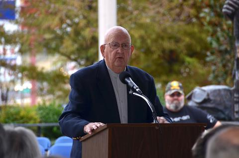 Golden delivers address at Veterans Day Ceremony