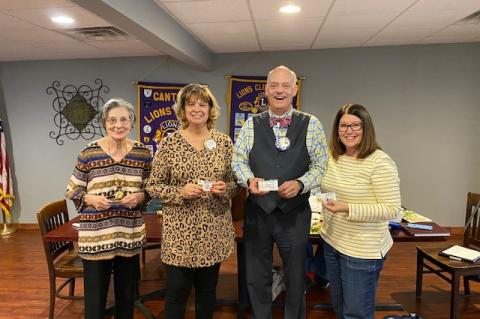 Canton Lions Club talk 12 Days of Christmas