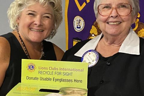 All about eyeglasses at Canton Lions Club