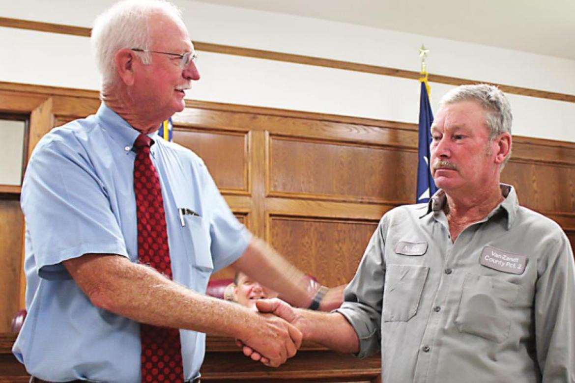 Dover recognized by commissioners
