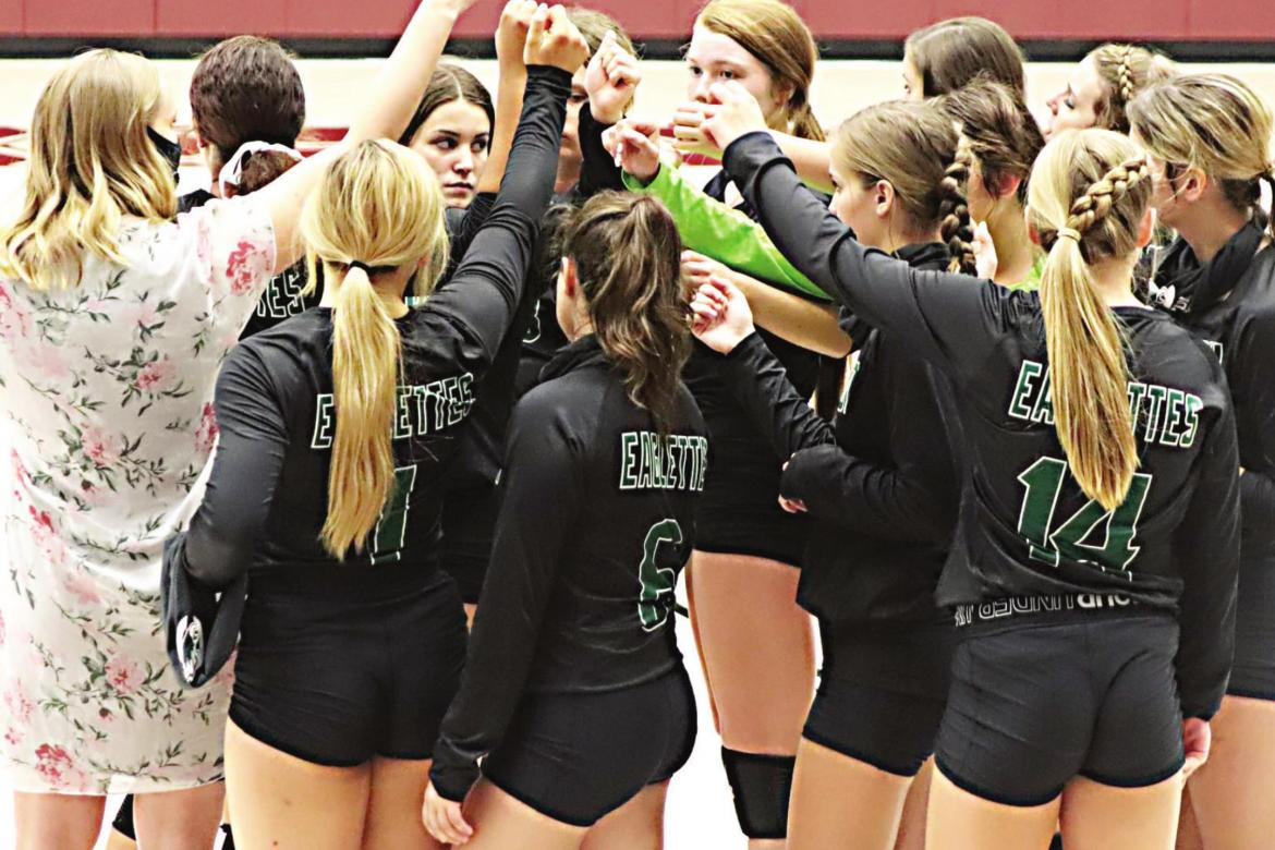 Canton Eaglettes ace first district test