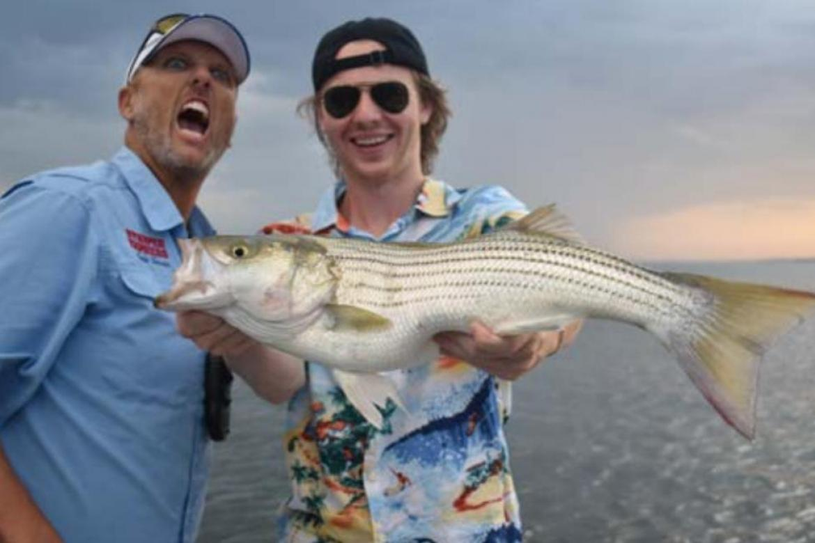 TEXOMA, A FISHERY FOR ALL SEASONS