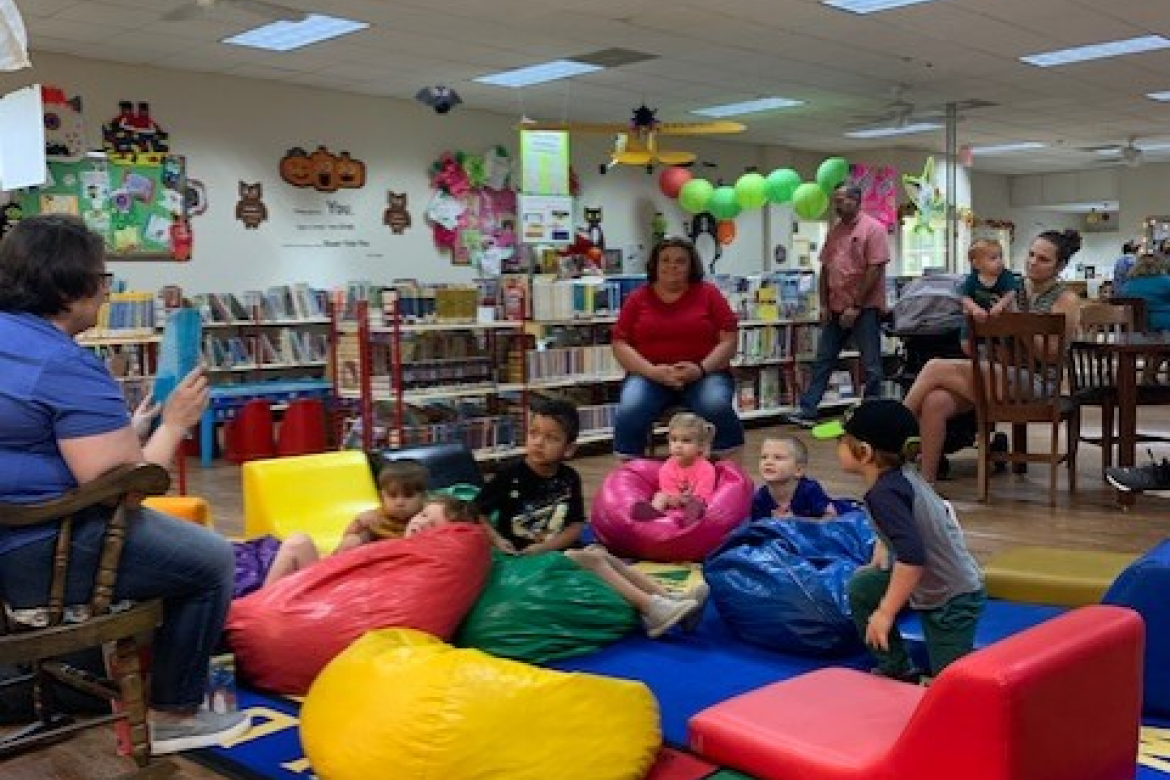 Storytime held every Friday